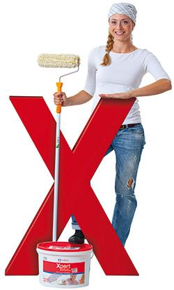 Heimwerkerin mit bauXpert-X